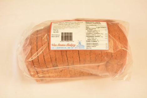 100% Rustic Whole Wheat Bread