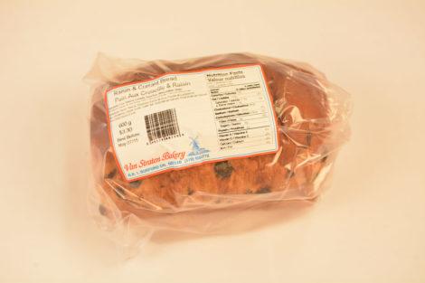 Van Straten Bakery Raisin & Currant Bread