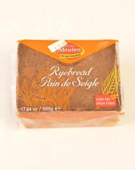 Dark Rye Bread Sliced